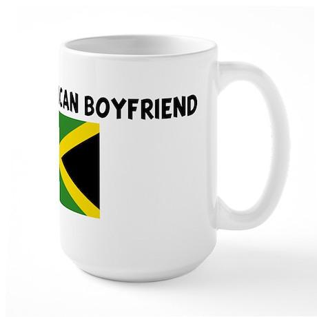 I LOVE MY JAMAICAN BOYFRIEND Large Mug