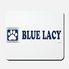 BLUE LACY Mousepad