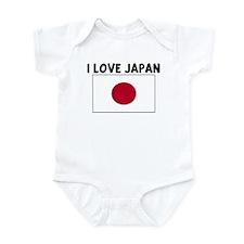 I LOVE JAPAN Infant Bodysuit