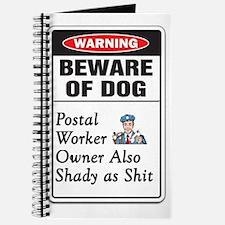Cute Post office worker Journal