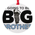 Im Going To Be A Big Brother Ornament