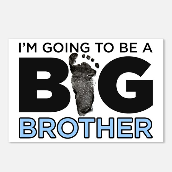 Im Going To Be A Big Brother Postcards (Package of