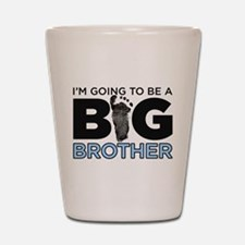 Im Going To Be A Big Brother Shot Glass