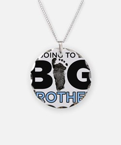 Im Going To Be A Big Brother Necklace