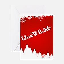 Cherokee Christmas Trees Greeting Cards