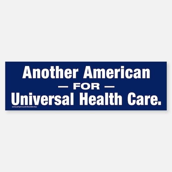 Universal Health Care Bumper Bumper Stickers