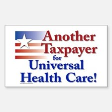 Universal Health Care Decal