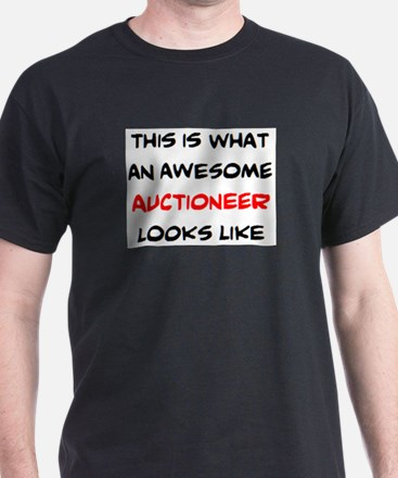 awesome auctioneer T-Shirt