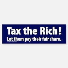 Tax the Rich! Sticker (Bumper)