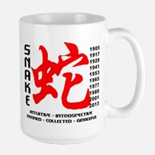 Chinese New Years of The Snake Mugs