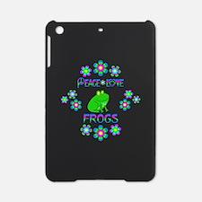 Peace Love Frogs iPad Mini Case
