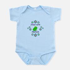 Peace Love Frogs Infant Bodysuit