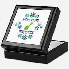 Peace Love Dinosaurs Keepsake Box