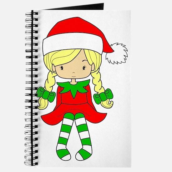 Blonde Elf Girl Journal