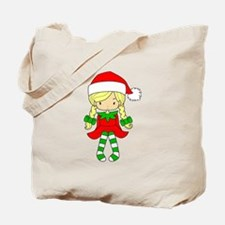 Blonde Elf Girl Tote Bag