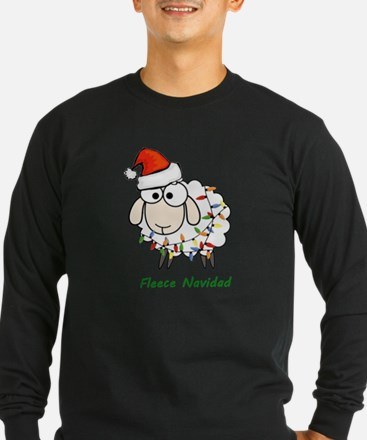 Fleece Navidad Long Sleeve T-Shirt