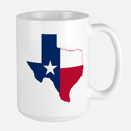 Texas Flag Map Mugs