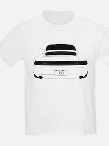 993 Porsche Carrera Targa Tur T-Shirt