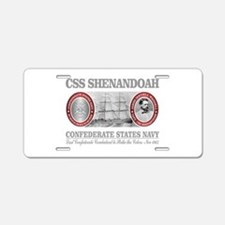 CSS Shenandoah Aluminum License Plate