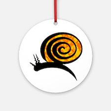 SNAIL Round Ornament