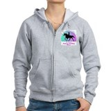 Tennessee walking horse zipper Zip Hoodies