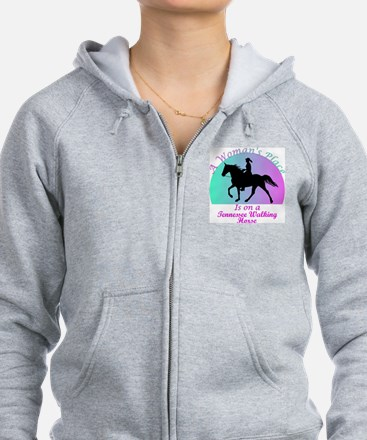 A Woman's Place is on a TWH! Sweatshirt