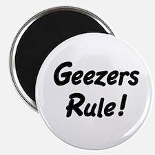 Geezers Rule! Magnet