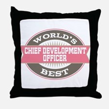 chief development officer Throw Pillow