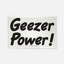 Geezer Power! Rectangle Magnet