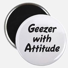 Geezer With Attitude Magnet