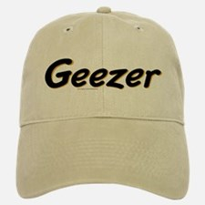 Geezer Baseball Baseball Cap