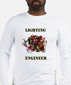 Lighting-Engineer-t-shirt Long Sleeve T-Shirt