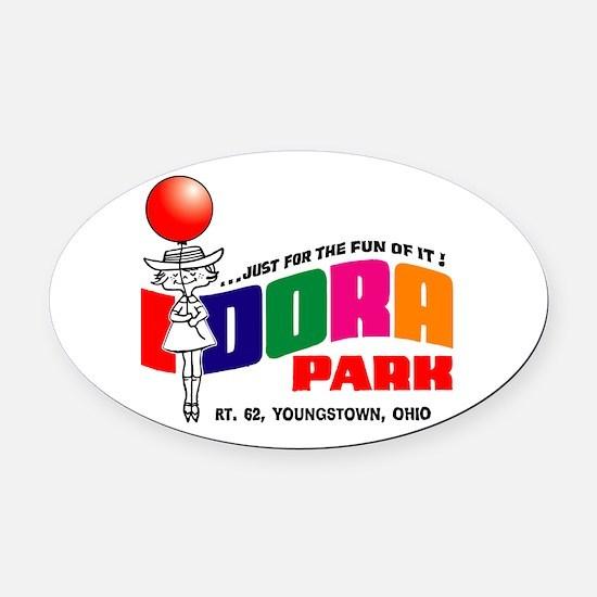 idora park Oval Car Magnet