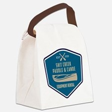 Shit Creek Paddle Canoe Rental Canvas Lunch Bag