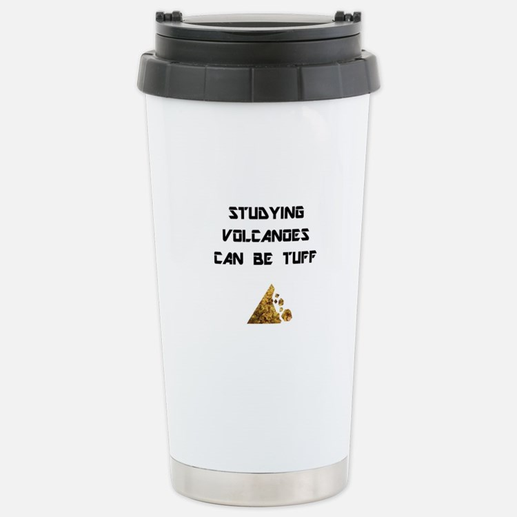 Cute Volcano Travel Mug