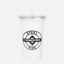 Youngstown Steel Pipe Acrylic Double-wall Tumbler