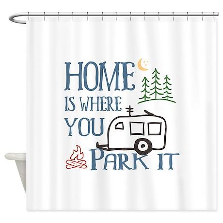 Camper Home Shower Curtain