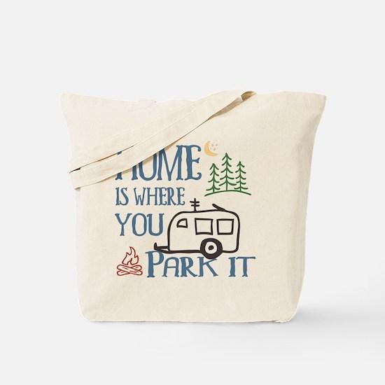 Camper Home Tote Bag