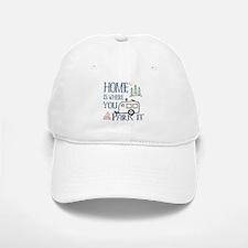 Camper Home Baseball Baseball Cap