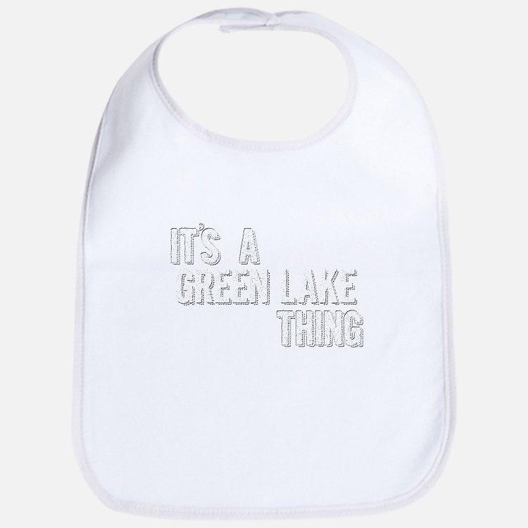 Its A Green Lake Thing Baby Bib