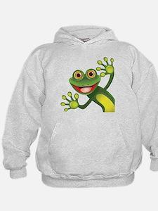 Happy Green Frog Sweatshirt