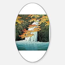 Woodblock Sticker (Oval)
