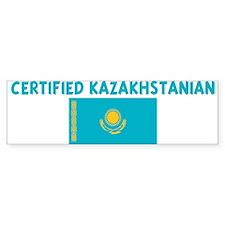CERTIFIED KAZAKHSTANIAN Bumper Bumper Sticker