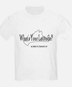 What's Your Latitude? T-Shirt