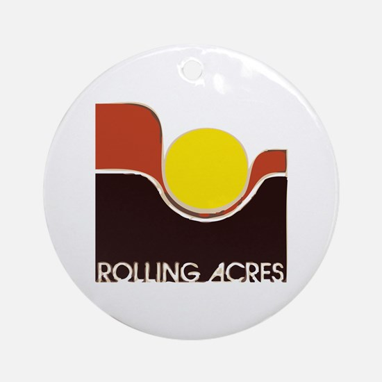 Rolling Acres Mall Round Ornament