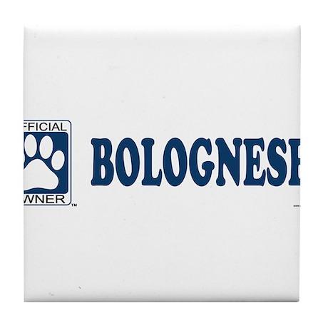 BOLOGNESE Tile Coaster