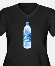 Dead Snowman Melted Bottled Water Plus Size T-Shir