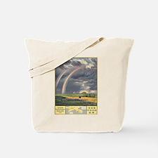 Vintage poster - South Manchuria Railway Tote Bag