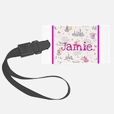 Jamie- unicorn princess Luggage Tag