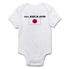 100 PERCENT MADE IN JAPAN Infant Bodysuit